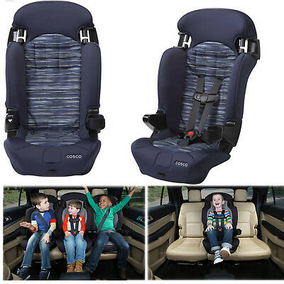 2in1 Baby Convertible Car Seat Toddler Highback Booster Travel Safety Kids Chair