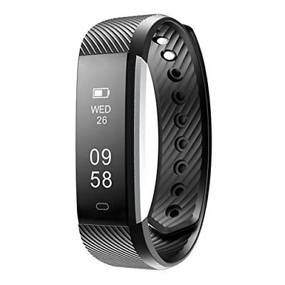 Fitness Trackers, FitX Water resistant Activity Tracker with Pedometer and Sleep