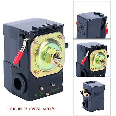 Air Compressor Pressure Switch Control Adjustable Single Port 220V 135-175 Psi