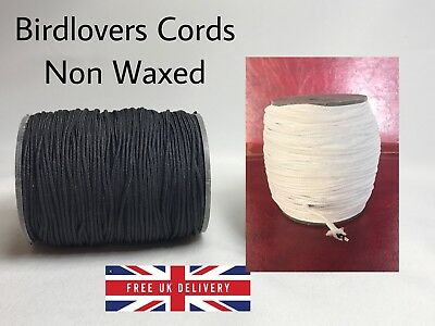 Quality Non Waxed 3Mm Thick Round Beading Cotton Cords Thread - Jewellery Crafts
