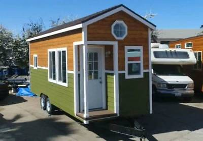 8.5 x 22 CUSTOM MOBILE TINY HOUSE NW BUNGALOW SINGLE LOFT professionally built