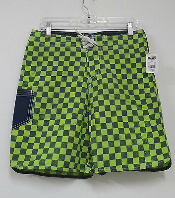 32edde27aaf8 Vans - The Era Classic - Mens Boardshorts - Neon Yellow blue - Size 31