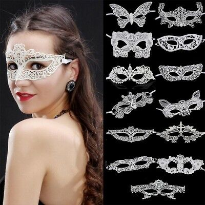 Women Lace Eye Face Mask Masquerade Party Ball Prom Accessories Decor 22 Styles