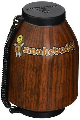 Smoke Buddy Personal Air Purifier Cleaner Filter Removes Odor Wood Keychain New