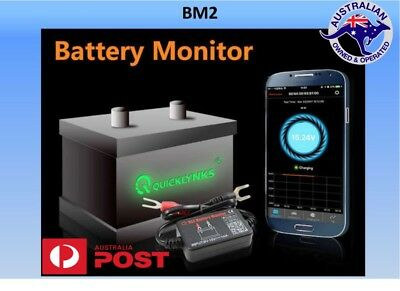 12V Car Battery Monitor via bluetooth 4.0 Voltage Meter caravan Auto Alarm
