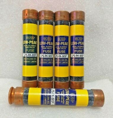 Bussmann LPS-RK-50SP Fuse - Lot of 10