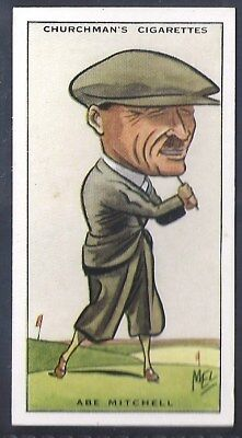 Churchman-Prominent Golf Ers (Standard Size)-#29- Abe Mitchell