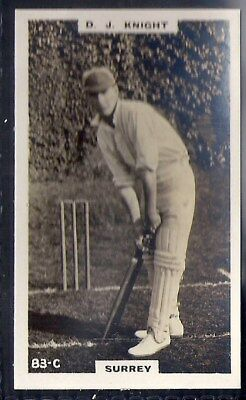 PHILLIPS-CRICKET ERS BROWN BACK F192-#083c- KNIGHT - SURREY
