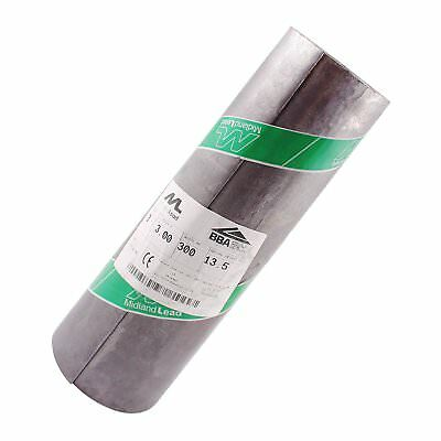 """1m of 300mm Wide 12"""" inch Code 3 Lead Flashing Roll Roof Roofing Repair Midland"""