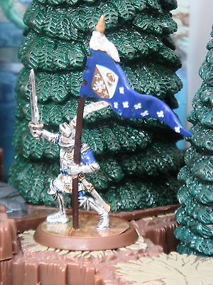 Sir Gilbert  Jandar Flag Bearer Heroscape Crest of the Valkyrie
