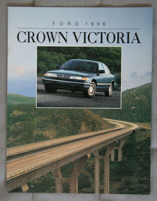 FORD CROWN VICTORIA 1996 dealer brochure - French - Canada - ST1002001217