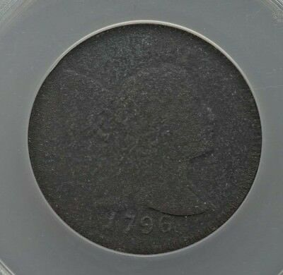 1796 LIBERTY CAP LARGE CENT,  S-82, R5, AG,  Combined Shipping