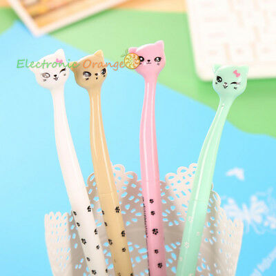 4 pcs Cute & Lovely 0.5mm Gel Pen Ballpoint Pens Office School Rollerball pen