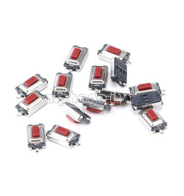 50PCS  3X6X2.5mm Tactile Push Button Switch Tact Switch Micro Switch 2 Pin