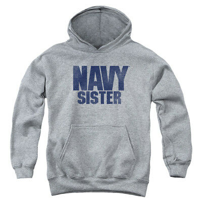 NAVY SISTER Youth Hoodie Pull-Over