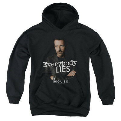 HOUSE EVERYBODY LIES Youth Hoodie Pull-Over