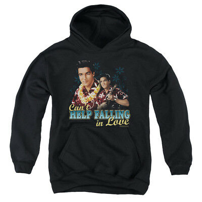 ELVIS CAN'T HELP FALLING Youth Hoodie Pull-Over