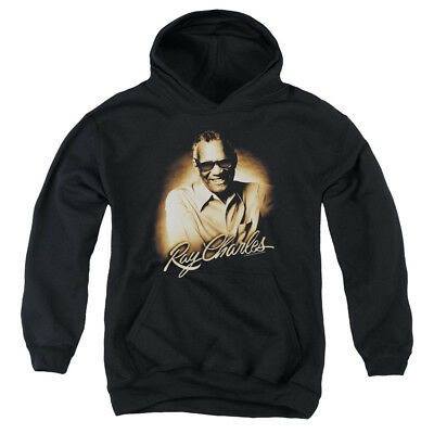 RAY CHARLES SEPIA Youth Hoodie Pull-Over