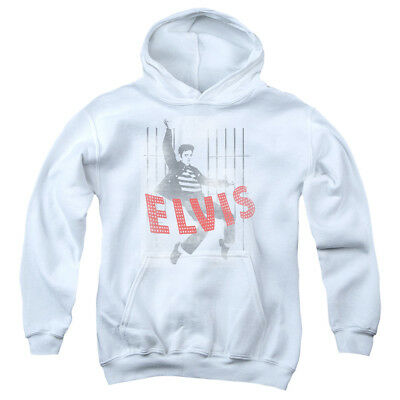 ELVIS ICONIC POSE Youth Hoodie Pull-Over