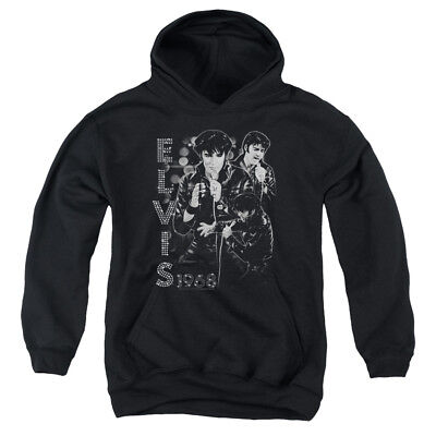 ELVIS LEATHERED Youth Hoodie Pull-Over