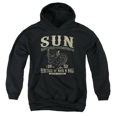 SUN RECORDS ROCKABILLY BIRD Youth Hoodie Pull-Over