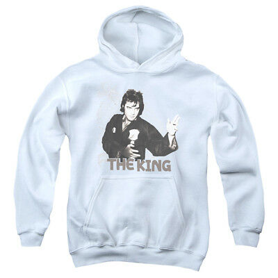 ELVIS FIGHTING KING Youth Hoodie Pull-Over
