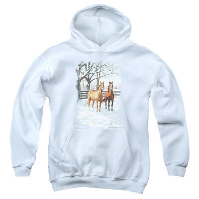 WILDLIFE COFFEE AND CHOCOLATE Youth Hoodie Pull-Over