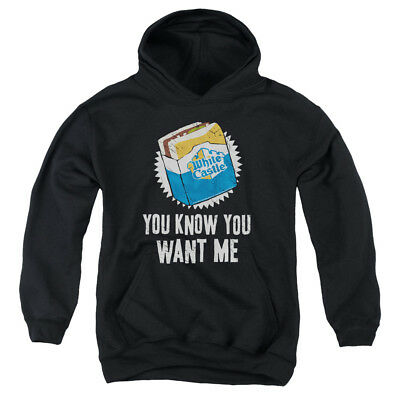 WHITE CASTLE WANT ME Youth Hoodie Pull-Over