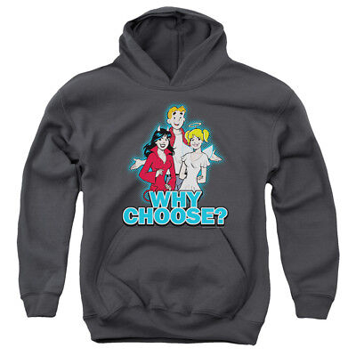 ARCHIE COMICS WHY CHOOSE Youth Hoodie Pull-Over