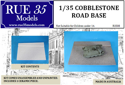1/35 Cobblestone Road Base Diorama Accessory