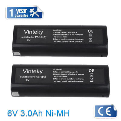 2X 3000mAh Battery For Paslode 404717 IM65A IM250 IM350A 900600 900400 902000