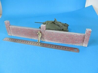 1/35 Brick Wall Diorama Accessory