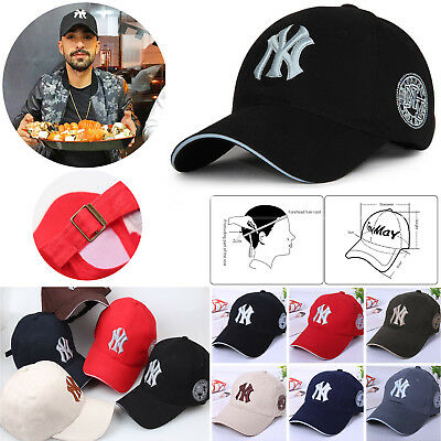 2bccd802164cf Blue Womens Girls NY New York Yankees Hats Sports Baseball Caps Black Red  White
