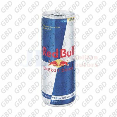 RED BULL CANS 250ML (x24)
