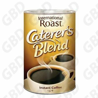 6x CATERERS BLEND INTERNATIONAL ROAST COFFEE 1KG