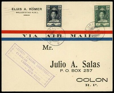 1928, Curacao, 102 u.a., Brief