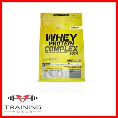 Olimp Whey Protein Complex 100% Pure Whey Concentrate Free Gift W/ 600g & 2.27kg