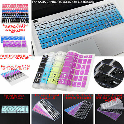 Waterproof Laptop Keyboard Skin Cover Case Film Protector For Lenovo Dell ASUS