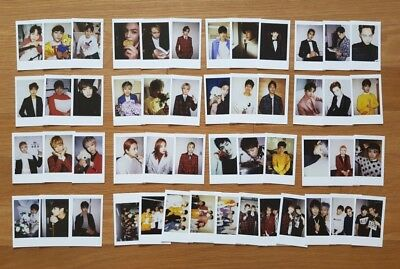 SEVENTEEN 2016 Encore Concert Official Goods ver.D Photocards Select Member