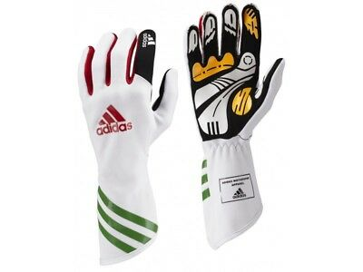 Adidas XLT Kart Glove White / Green  Gr.XL