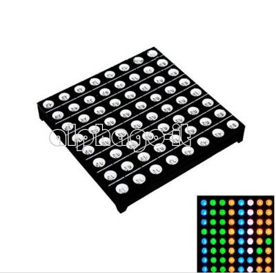 5mm 8*8 8x8 Full Colour RGB LED Dot Matrix Display Module Common Anode 60x60mm