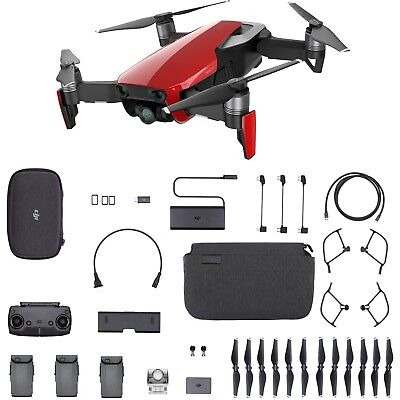 DJI Mavic Air Fly More Drone Combo - Flame Red - Brand New UK Stock