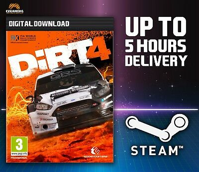 DiRT 4 [PC] (2017) STEAM DOWNLOAD KEY 🎮🔑