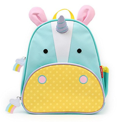 Skip Hop Zoo Toddler Kids Insulated Backpack Eureka Unicorn Girl, 12-inches,