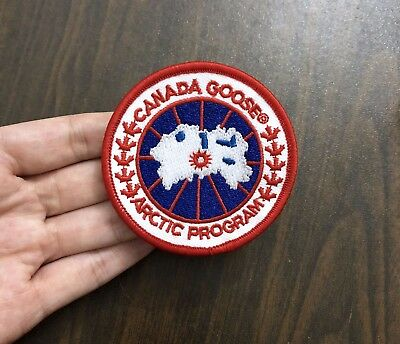 Canada Goose logo embroidered patch iron on patch sew on patch patches  armband 1921e92636fc