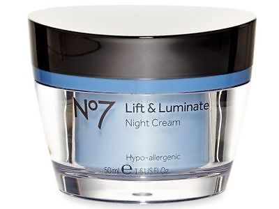 No7 lift & luminate night cream - 50ml