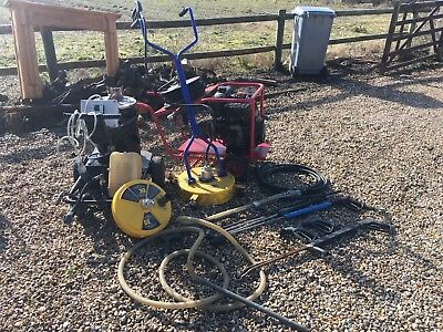 Hilta, Diesel Pressure Washer, Hot Box Whirl away Sandblasting, Complete Package