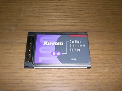 XIRCOM CBE2-100 WINDOWS 7 64BIT DRIVER