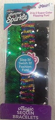 Cra-Z-Art Shimmer N Sparkle 2 in 1 Magic Sequin Bracelet