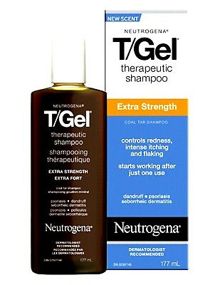Neutrogena T/Gel Shampoo Therapeutic Extra Strength 6oz. (2 PACK)